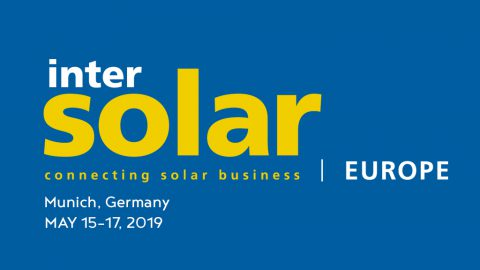 Intersolar Munich 2019