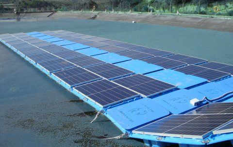 The largest floating photovoltaic plant in Spain