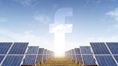 Facebook bets on renewable energy