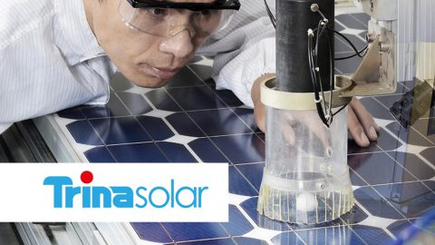 Trina Solar new record of efficiency of 24.58%